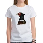 Ringneck Rooster Head Women's T-Shirt