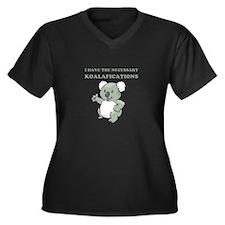 Necessary Koalafications Women's Plus Size V-Neck