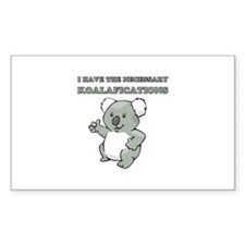 Necessary Koalafications Stickers