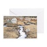 Cute Beaver pond Greeting Cards (Pk of 10)