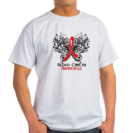 Butterfly Blood Cancer Light T-Shirt