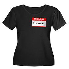 Fernanda, Name Tag Sticker T