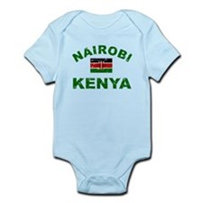 Nairobi Kenya designs Infant Bodysuit