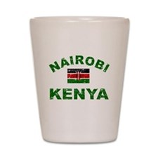 Nairobi Kenya designs Shot Glass