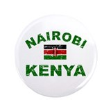 Nairobi Kenya designs 3.5&quot; Button