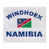 Windhoek Namibia designs Throw Blanket