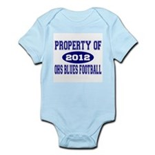 OHS BLUES FOOTBALL Infant Bodysuit