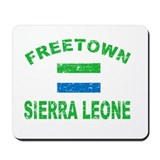 Freetown Sierra Leone designs Mousepad