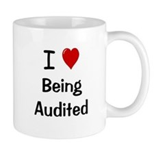 Accountant Auditor Gift - Cheeky Audit Quote Small Mug