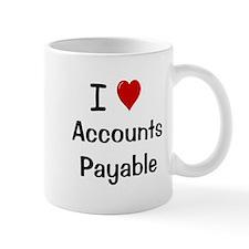 Accounts Payable - I Love Accounts Payable Small Mug
