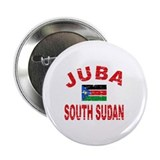 "Juba South Sudan designs 2.25"" Button (10 pack)"