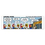 0554 - Give me your wallet Sticker (Bumper 10 pk)