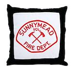 Sunnymead V.F.D. Throw Pillow