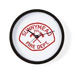 Sunnymead V.F.D. Wall Clock