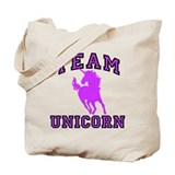 Team Unicorn Tote Bag