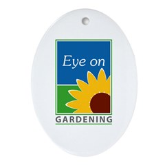 Eye on Gardening TV Oval Ornament