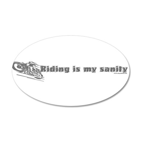 riding.png 22x14 Oval Wall Peel