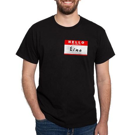 Eino, Name Tag Sticker Dark T-Shirt