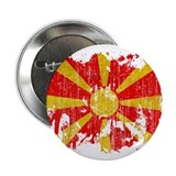 "Macedonia Flag 2.25"" Button (100 pack)"