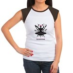 Mothership HackerMoms Logo Women's Cap Sleeve T-Sh