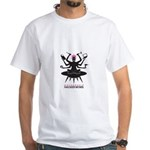 Mothership HackerMoms Logo White T-Shirt