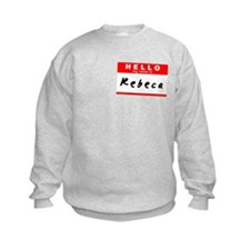 Rebeca, Name Tag Sticker Jumpers