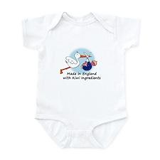 Stork Baby NZ England Onesie