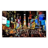 Funny Time square Decal