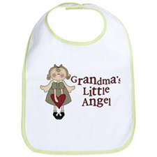 Grandmas Little Angel Bib