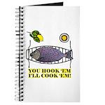 You Hook 'Em Fishing Journal