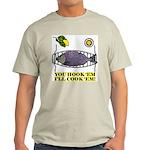 You Hook 'Em Fishing Ash Grey T-Shirt