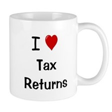 Tax Preparer Mug - I Love Tax Returns Mug