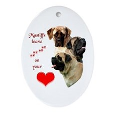 Mastiff 88 Oval Ornament