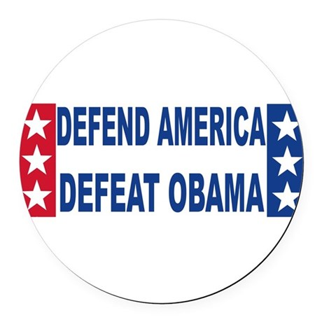 defend america.png Round Car Magnet