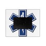 EMS EMT Rescue Logo Picture Frame