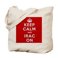 Keep Calm And IRAC On Tote Bag