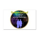 Graduation: 0003 Car Magnet 20 x 12