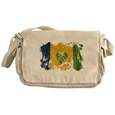 Saint Vincent Flag Messenger Bag