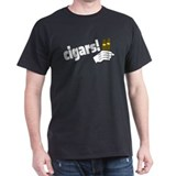 cigars Black T-Shirt