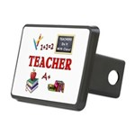 Teachers Do It With Class Rectangular Hitch Cover