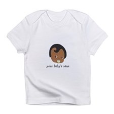 African American Boy With Pacifier Infant T-Shirt
