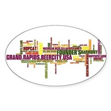 Cute Grand rapids Decal