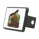 moose fun Rectangular Hitch Cover