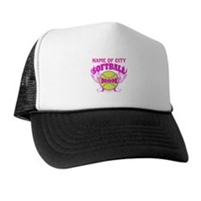 Personalize Softball Mom Trucker Hat
