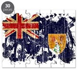 Turks and Caicos Flag Puzzle