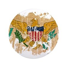 "Virgin Islands Flag 3.5"" Button (100 pack)"