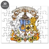 Kaniac Crest English Motto Puzzle