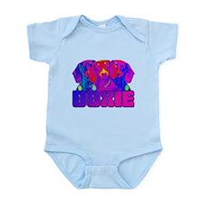 Op Art Doxie Infant Bodysuit