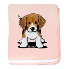 Beagle Puppy baby blanket