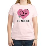 ER Nurse Heart T-Shirt